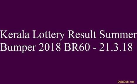 Kerala lottery result' in Scoop me   Scoop it