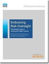 Risk Oversight Report 2014: The Board's Role in Setting the Risk Culture | Thomson Reuters Accelus | Scoop.it