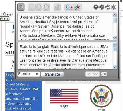 traduction en ligne: un bookmarklet pour traduire plus vite   Langues en ligne   Scoop.it
