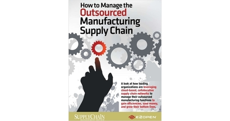 How to Manage the Outsourced Manufacturing Supply Chain | Small Business News and Information | Scoop.it