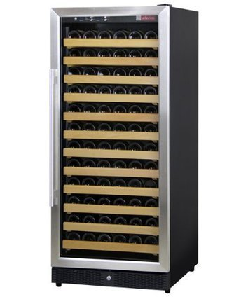 Kitchen product reviews oster 118513 000 000 g new deal product allavino mwr 1271 ssr 132 bottle wine cellar refrigerator stainless door frame fandeluxe Images