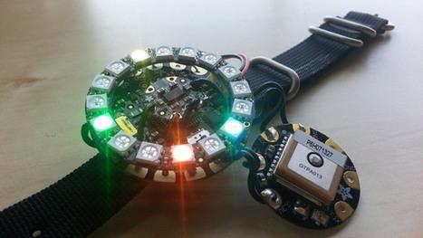 This DIY Geocaching Bracelet Shows The Power Of Wearables | TechCrunch | Digital Fabrication, Open Source Hardzware, DIY, DIWO | Scoop.it