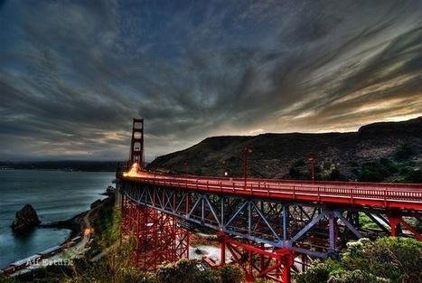 Photographer Captures the Vast Beauty of the Golden Gate Bridge | Grand Pictures | Scoop.it