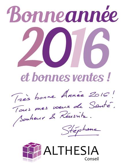 Bonne Année 2016 ! | ALTHESIA Conseil | Scoop.it