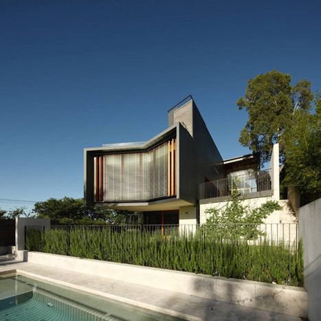 Rosalie Residence: A Sustainable Modern Home in Australia | sustainable architecture | Scoop.it