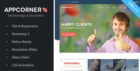 25+ Flat Web Design Examples Inspiration | Wordpress Web Design | Scoop.it