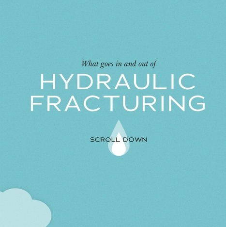 Great visual storytelling [very creative]! What Goes In & Out of Hydraulic Fracking | Unstick Your Stories Using Visuals | Scoop.it