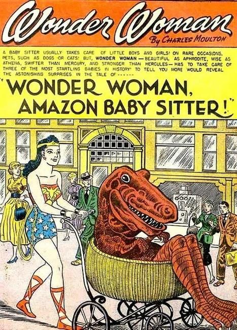 Wonder Woman Amazon Baby Sitter, 1957 | Comic Books | Scoop.it
