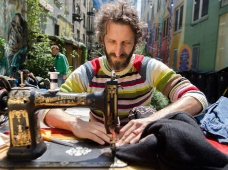 A Free Mending Library on the Streets of San Francisco | Ecouterre | Medical Rescue: Healthcare Needed | Scoop.it