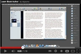 10 Great Tutorials to Create Interactive eBooks Using iBook Author--& to use with storytelling | SOCIALFAVE - Complete #SMM platform to organize, discover, increase, engage and save time the smartest way. #TOP10 #Twitter platforms | Scoop.it
