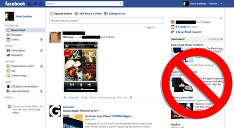 Research: 44% of Facebook users will 'never' click sponsoredads | socialatwork | Scoop.it