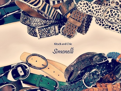 Cinture Simonelli, Montegranaro : Hand-Made Leather Belts 100% Made in Italy | Le Marche & Fashion | Scoop.it