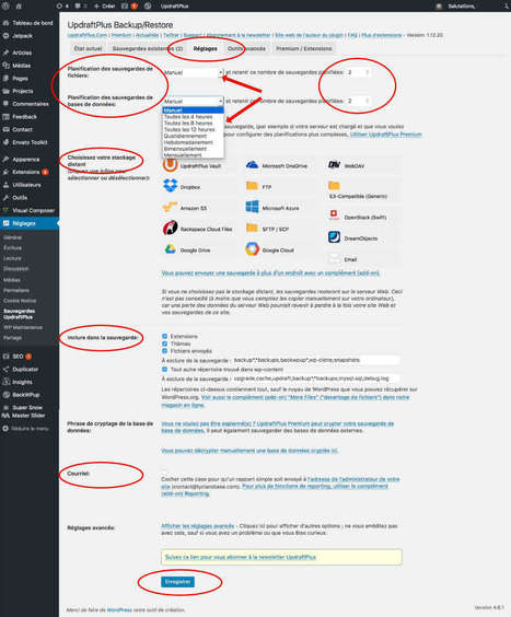 Sauvegardez votre #WordPress simplement avec UpdraftPlus | Time to Learn | Scoop.it