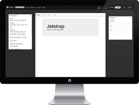 Jetstrap - The Bootstrap Interface Builder | Web mobile - UI Design - Html5-CSS3 | Scoop.it