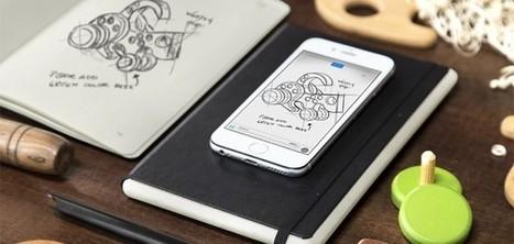 Moleskine crée un carnet qui digitalise vos notes en temps réel | Créativité, Innovation et Prospective | Scoop.it