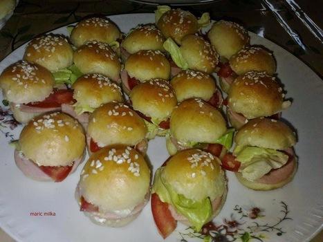 #Recept: Mini sendviči | Recepti i kuhinja za pocetnike [ kao ja] | Scoop.it