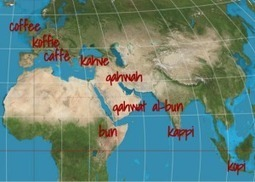 Why the 'Coffee' Words Are Not Cognates | Geography Education | Scoop.it