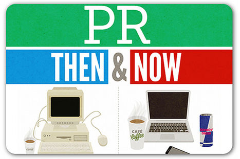 How the PR industry of yesteryear compares with today | Articles | Home | Clear Communications | Scoop.it