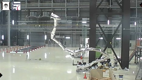A Super Light 20 Meter Robot Arm Built Using Helium-Filled Inflatable Segments | Robots in Higher Education | Scoop.it