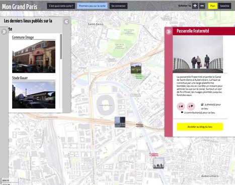 Une CARTOGRAPHIE SENSIBLE des lieux du GrandParis faite par ses habitants.  | Mon Grand Paris | espaces publics urbains | Scoop.it