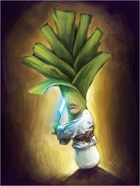 Nela Krzewniak – Star Wars Fruits and Vegetables | Innovatie Antenne | Scoop.it
