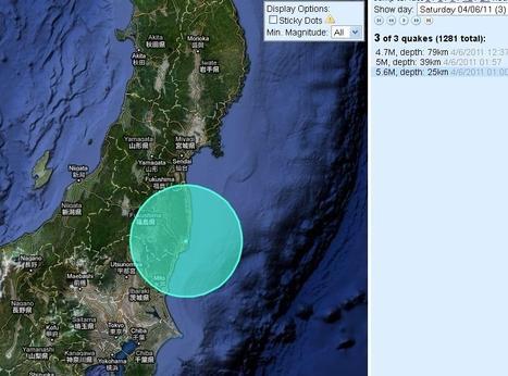 [séisme] Encore des secousses aux environs de Fukushima | Japan Quake Map | Japon : séisme, tsunami & conséquences | Scoop.it