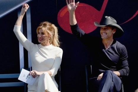 Tim McGraw, Faith Hill Land Country Hall of Fame Exhibit | Country Music Today | Scoop.it