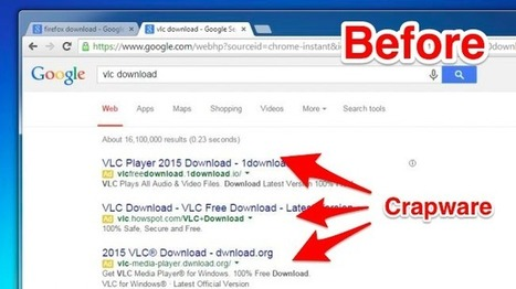 Google is Now Blocking Crapware in Search Results, Ads, and Chrome | Cyber Security | Scoop.it