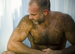 Very hairy gay men