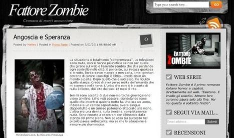 Fattore Zombie, arriva in rete il romanzo a puntate | Diventa editore di te stesso | Scoop.it