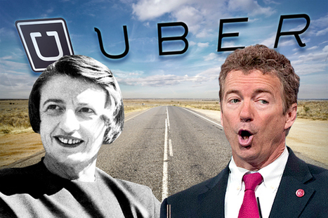 The sharing economy is a lie: Uber, Ayn Rand and the truth about tech and libertarians | The Great Transition | Scoop.it