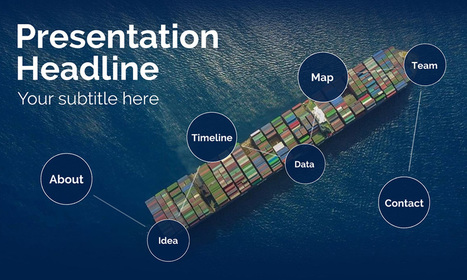 shipping and logistics presentation prezi templ