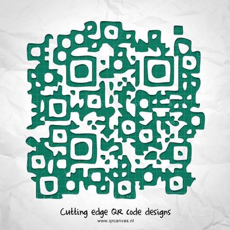 De la dentelle pour un qr design | artcode | Scoop.it