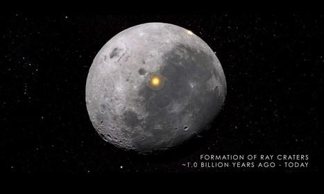 Cómo se creó y evolucionó La Luna hasta llegar a ser el satélite que es hoy en día.- | EDUDIARI 2.0 DE jluisbloc | Scoop.it