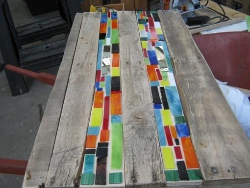 Mosaic Pallet Table 1001 Pallets 1001 Palle