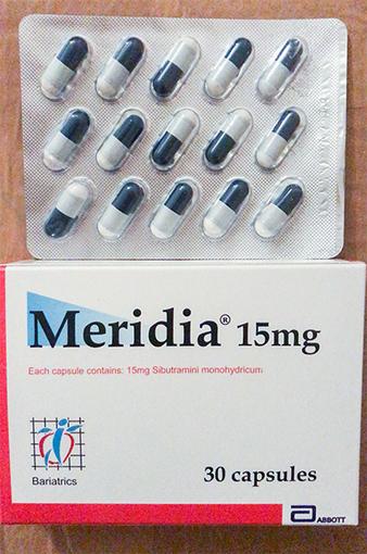 medicamentos para bajar de peso sibutramina efectos