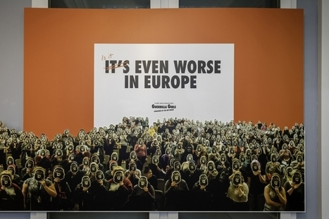 Guerrilla Girls Find — Surprise! — that European Museum Collections Are Heavily White and Male | Gender and art | Scoop.it