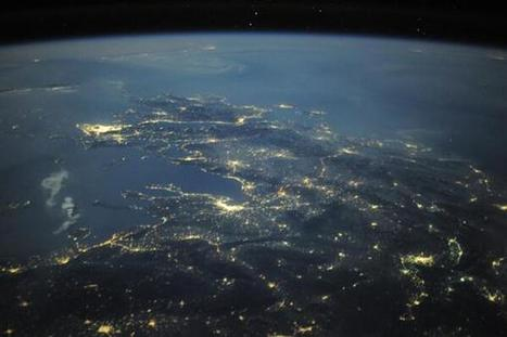 Twitter / Astro_Wheels: Greece from space is a profound ... | Rent a car | Scoop.it