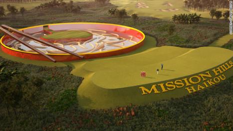The world's craziest crazy golf course? - CNN | Golf Club World | Scoop.it