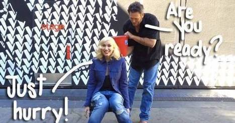 """Gwen Stefani Is The Next Celeb To Take The Ice Bucket Challenge! See Blake Shelton's Painfully Slow Pour HERE! 