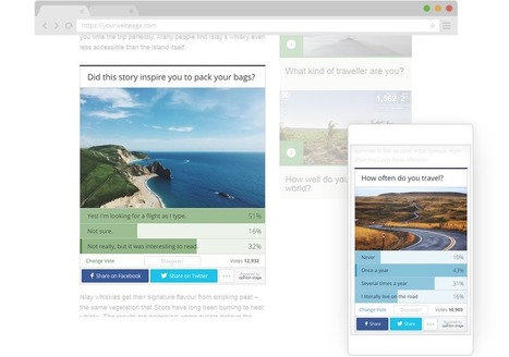 Opinion Stage: Create Polls, Quizzes, Lists and more | HandyTools For EFL Teachers | Scoop.it