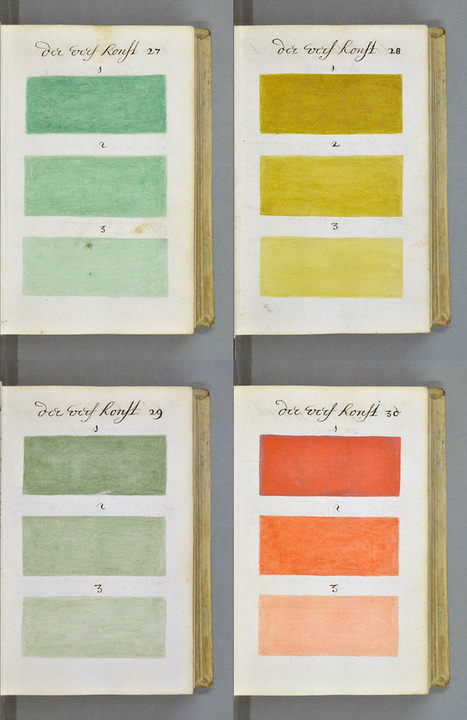 Extraordinary 271-Year-Old Encyclopedia of Colors and Paint | Visual Thinking | Scoop.it