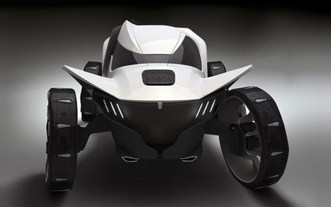 Evil (in a good way) Electric Concept Car - The Misha | What Surrounds You | Scoop.it