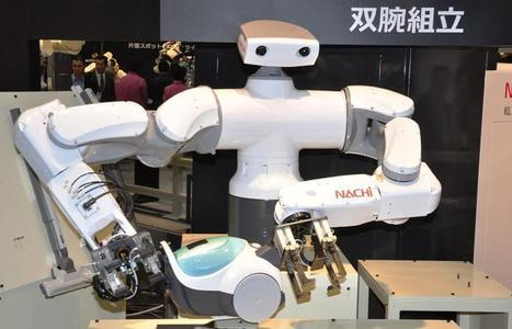 Seeing-eye robots? Bots for elderly draw crowds at iRex - CNET | Eyes Make Art | Scoop.it