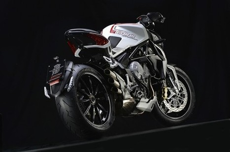 MV Agusta rumbles in with the new Brutale 800 Dragster   Ducati & Italian Bikes   Scoop.it