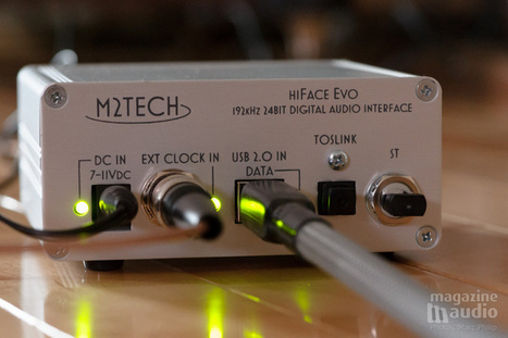 M2TECH HiFace Evo Evoclock - Magazine Audio | M2Tech | Scoop.it