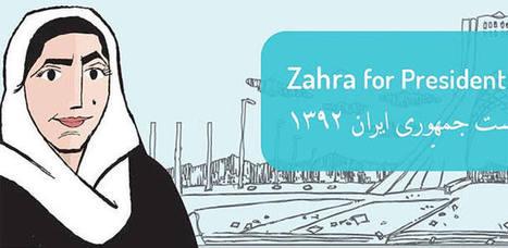 Zahra, la candidata virtual que se presenta a las elecciones de Irán - RTVE.es | Buque ARTdora | Scoop.it