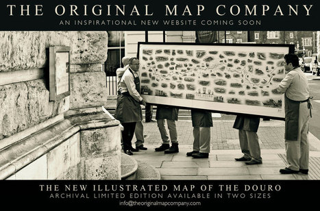 The Original Map Company | The Douro Index | Scoop.it