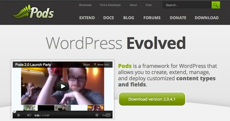 Pods - for WordPress | ICT hints and tips for the EFL classroom | Scoop.it