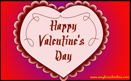 Happy Valentine Day 2013 SMS Wishes Greetings Wallpapers